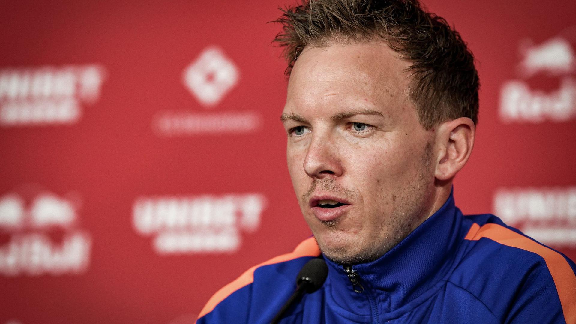 Möchte sich als Pokalsieger aus Leipzig verabschieden: RB-Coach Julian Nagelsmann.