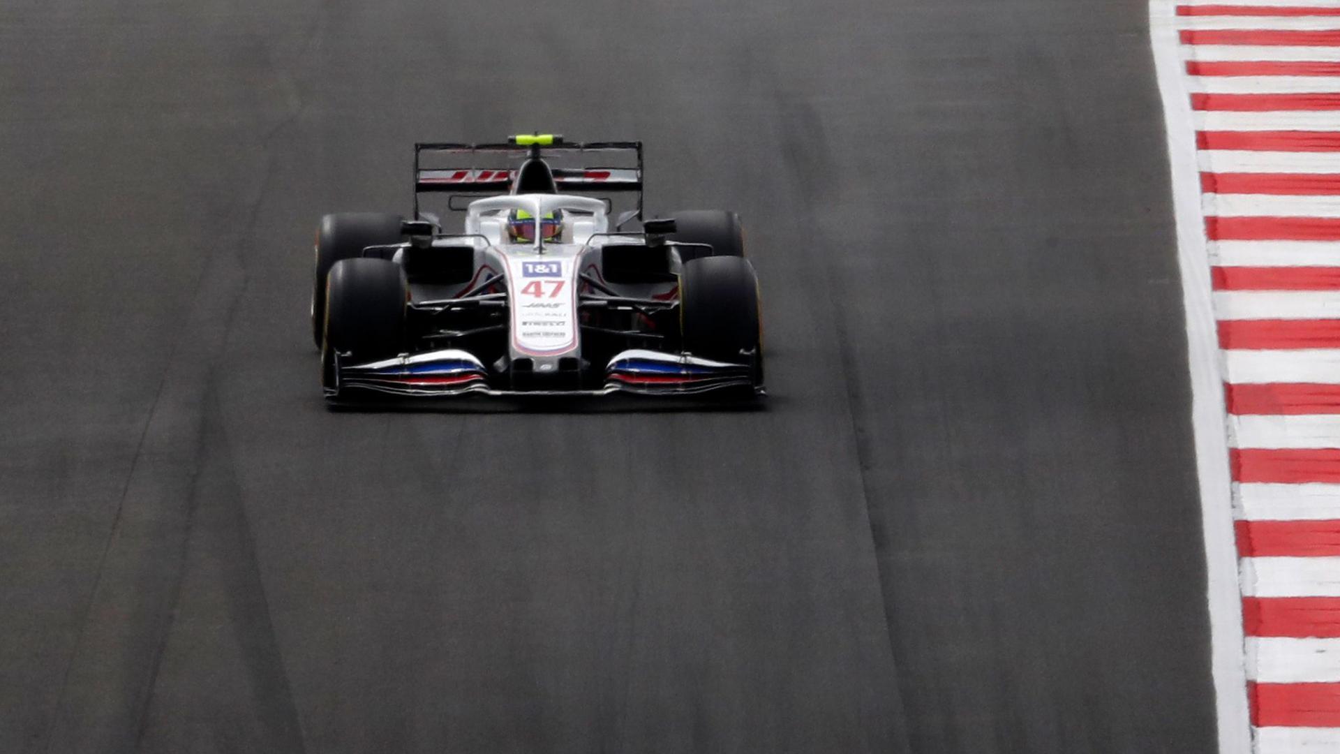 Mick Schumacher kam in der Qualifikation zum Großen Preis von Portugal nicht über den vorletzten Platz hinaus.