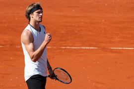Gewann sein Auftaktmatch in Madrid: Alexander Zverev.