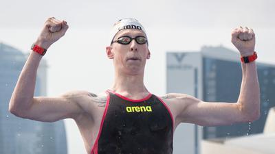 Für Schwimmer Florian Wellbrock ist die EM Formcheck und Medaillenchance zugleich.