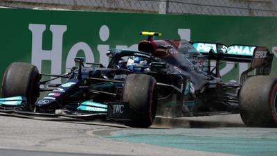 Der Finne Valtteri Bottas hat im ersten Training vor dem Großen Preis von Spanien die Bestzeit gesetzt.