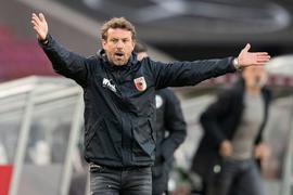 Der FC Augsburg verlor auch unter Markus Weinzierl.