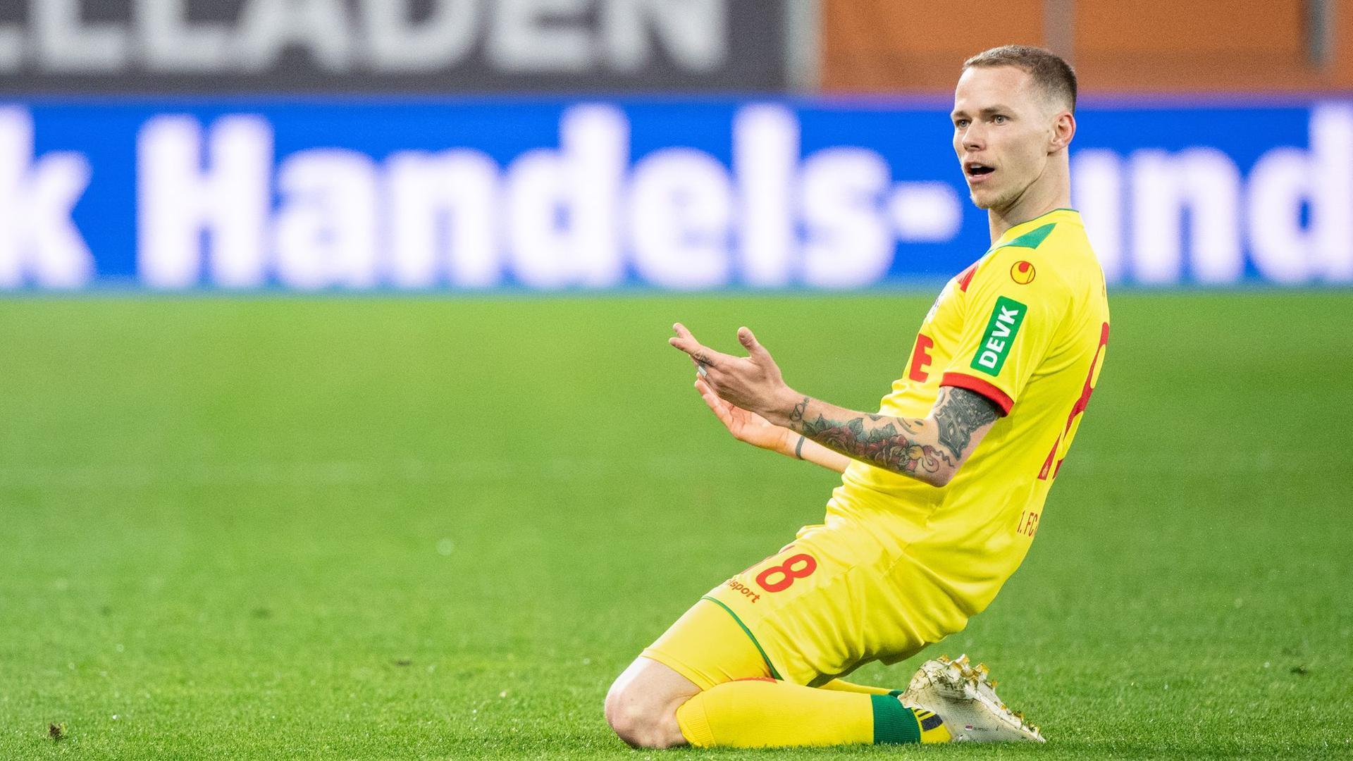 Ondrej Duda will den Abstieg des 1. FC Köln verhindern.
