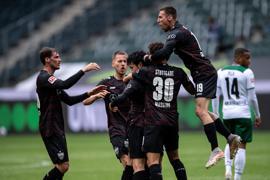 Der VfB Stuttgart konnte die Partie in Mönchengladbach drehen.
