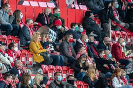 Der 1. FC Union Berlin möchte vor Zuschauern spielen.