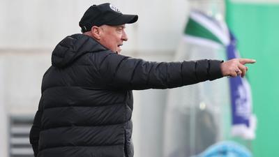 Der Trainer Gerhard Kleppinger vom SV Sandhausen.