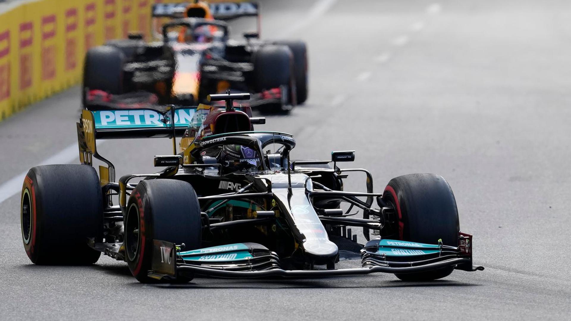 Fuhr in Baku ein historisch schlechtes Ergebnis ein: Lewis Hamilton.