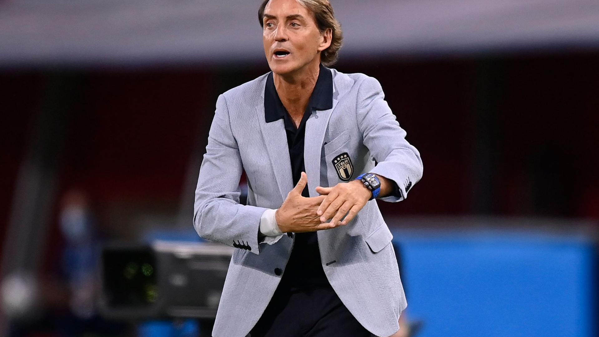 Hat großen Anteil an der Wiederauferstehung der Squadra Azzurra: Italiens Nationaltrainer Roberto Mancini.