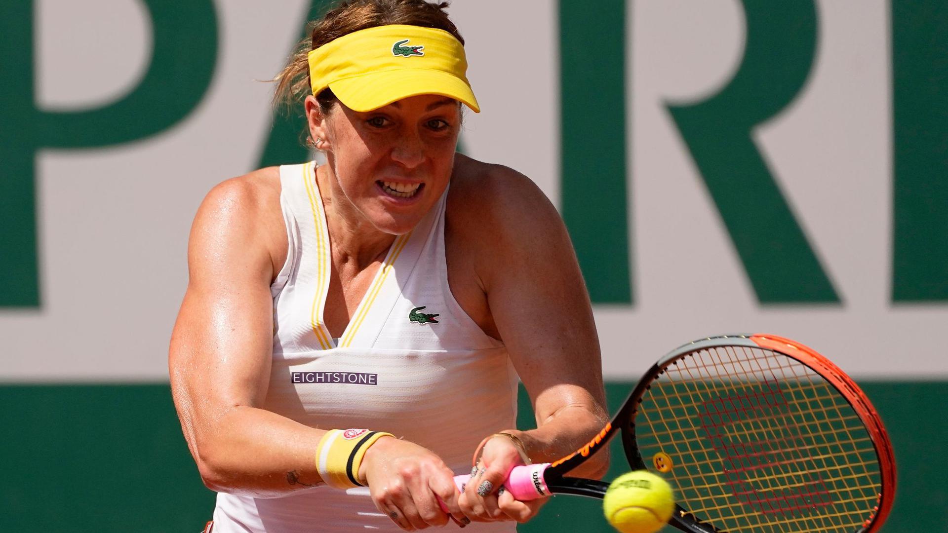 Steht bei den French Open als erste Finalistin fest: Anastasia Pawljutschenkowa.