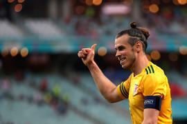 Zeigte sich beim Spiel gegen die Türkei in absoluter Topform: Wales-Star Gareth Bale.