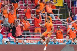 Die Niederländer um Torschütze Memphis Depay setzten sich in Amsterdam gegen Österreich durch.