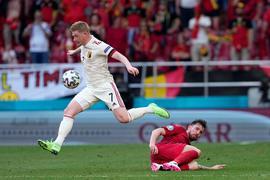 Belgiens Sieggarant gegen Dänemark: Kevin De Bruyne.