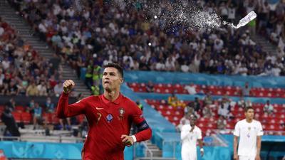 Jubelt über sein 109. Tor für Portugal: Christiano Ronaldo.