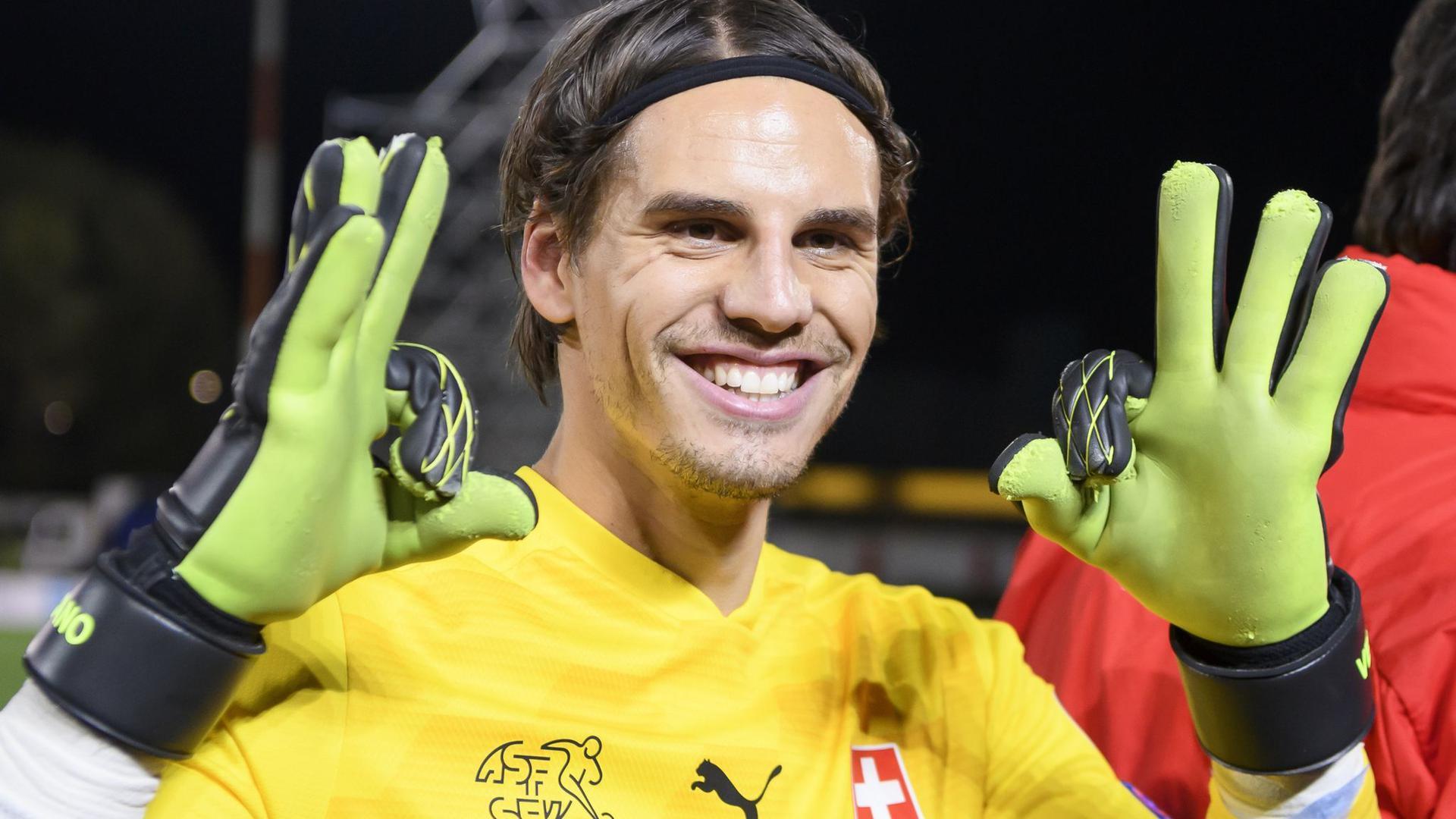 Der Schweizer Torhüter Yann Sommer ist einer von noch 27 im EM-Turnier verbleibenen Bundesliga-Spielern.