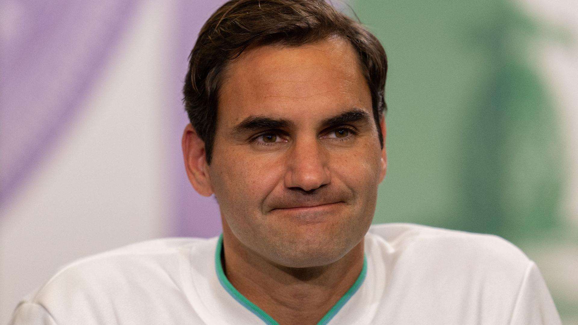Hat ebenso wie Rafael Nadal seine Teilnahme an den Spielen in Tokio abgesagt: Roger Federer.