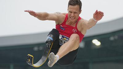 Darf nicht an Olympia für Nichtbehinderte teilnehmen: Markus Rehm.