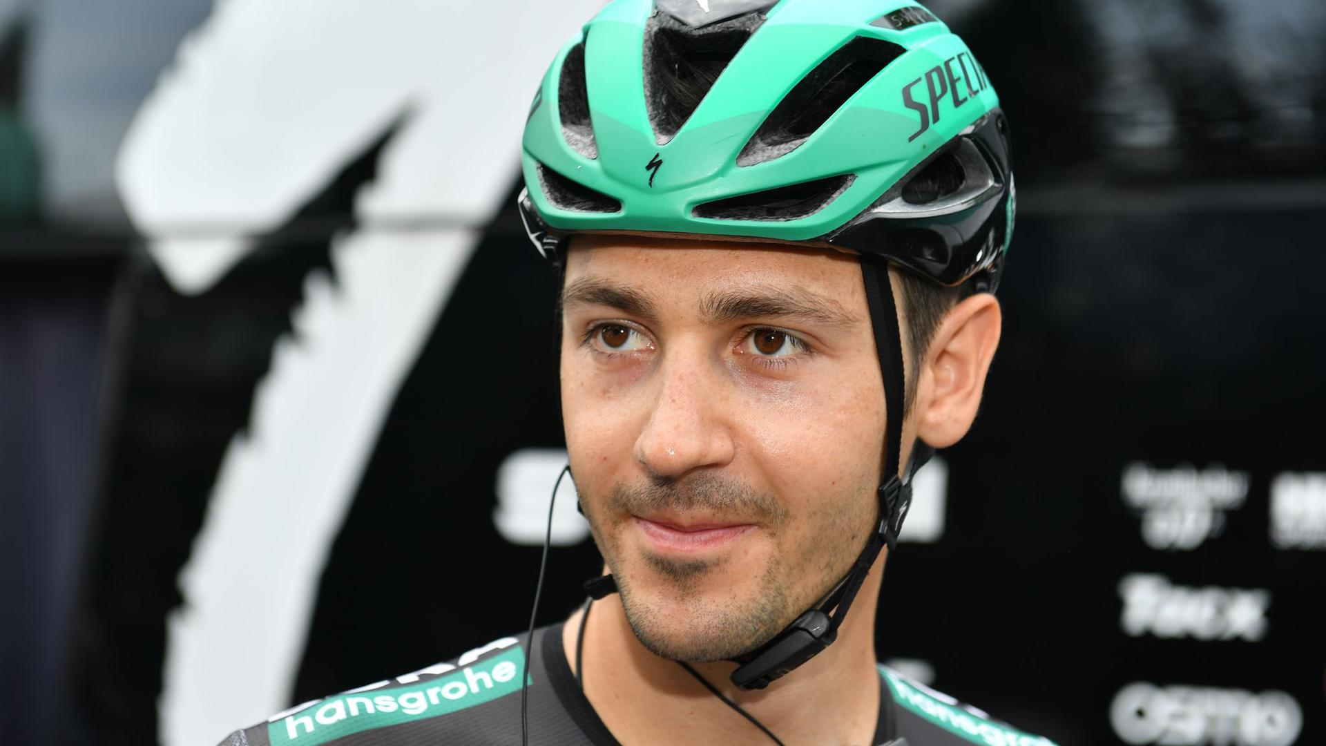 Emanuel Buchmann ist beim olympischen Radrennen dabei.