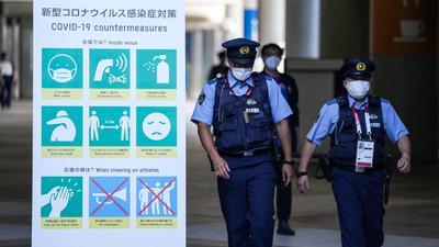 Bei den Olympischen Spielen in Tokio hat es 16 weitere Corona-Fälle gegeben.