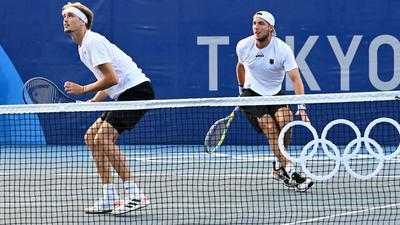 Das letzte im Wettbewerb verbliebene deutsche Herren-Doppel ist in das Olympia-Viertelfinale eingezogen.