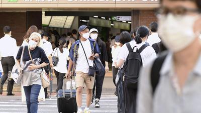 Die Corona-Zahlen steigen in Tokio weiter an.