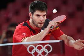 Dimitrij Ovtcharov hat sein starkes Turnier mit Bronze gekrönt.