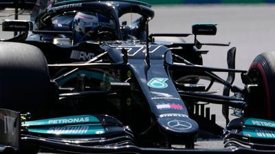 Trainingsschnellster in Ungarn: Der Finne Valtteri Bottas vom Team Mercedes.