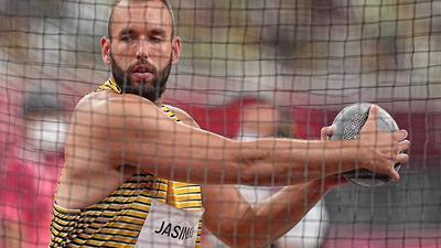 Daniel Jasinski landete im Diskus-Finale nur auf Platz zehn.