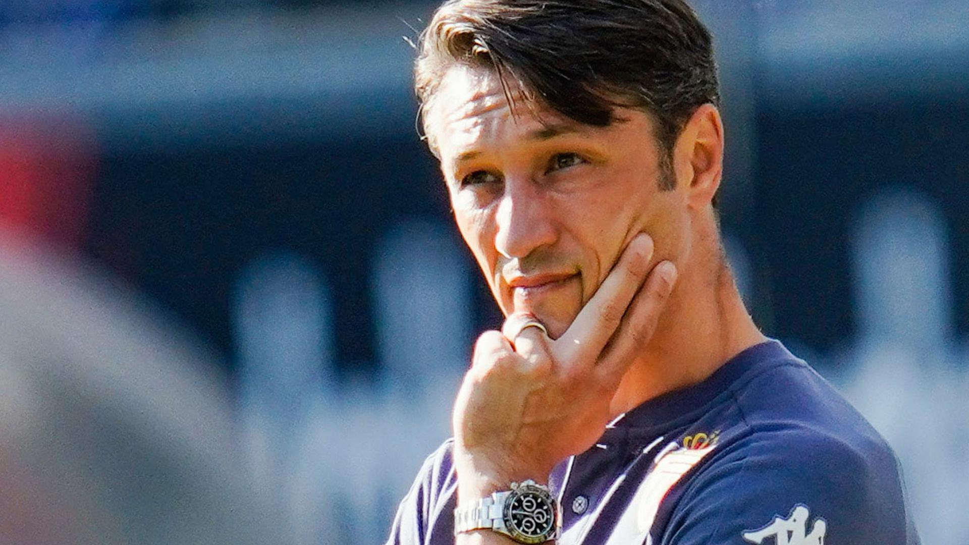 Monaco-Trainer Niko Kovac verurteilte die rassistischen Vorfälle in Prag.