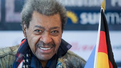 Box-Promoter Don King wird 90 Jahre alt.