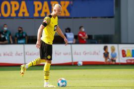 Blieb gegen Freiburg glücklos: Dortmunds Erling Haaland.