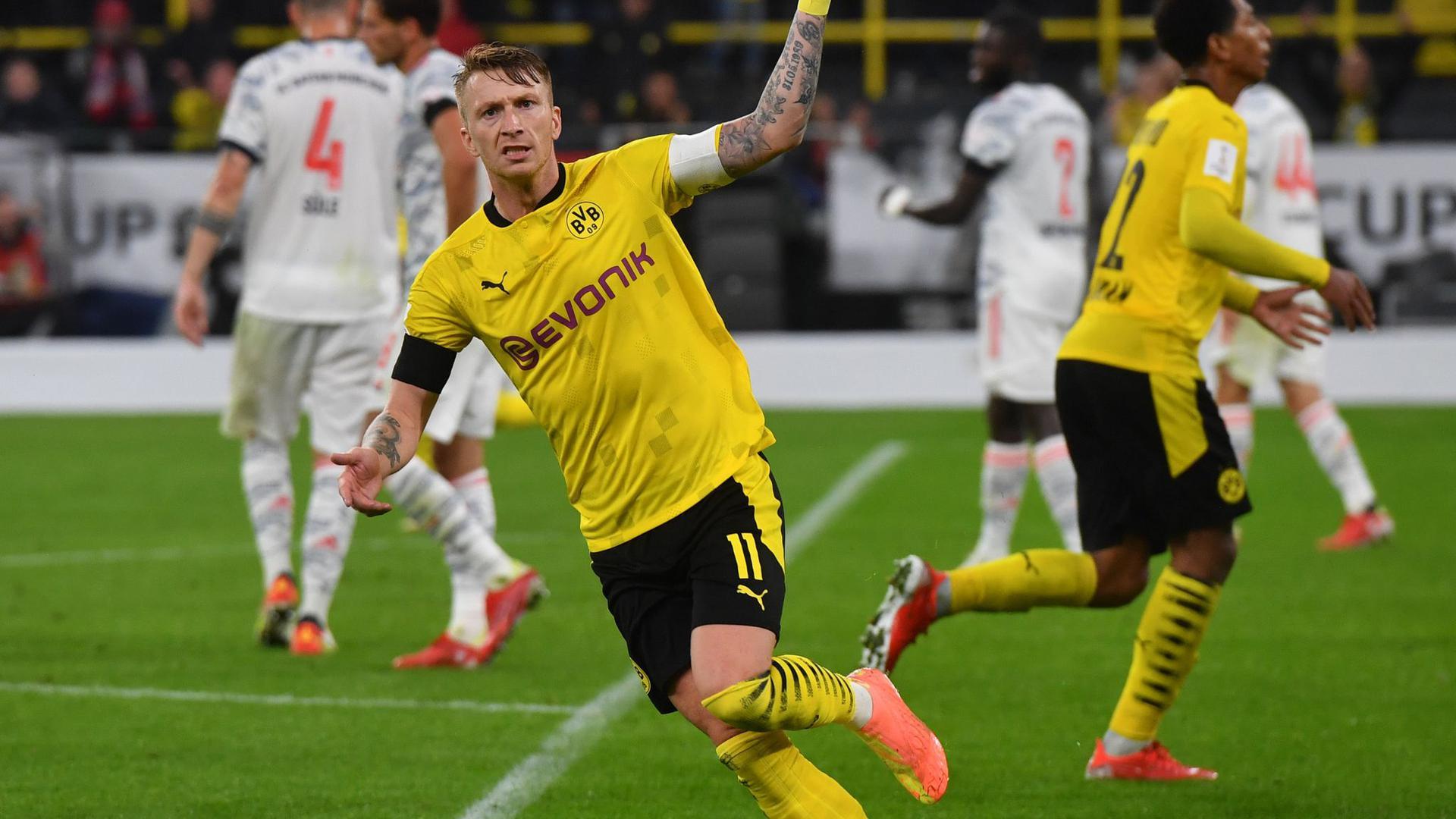 BVB-Kapitän Marco Reus wird in die Nationalmannschaft zurückkehren.