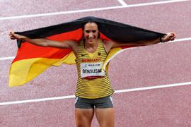 Holte eine weitere Paralympics-Medaille: Irmgard Bensusan.