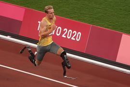 Hat seinen Ruf als schnellster Mann auf zwei Prothesen unterstrichen: Johannes Floors.