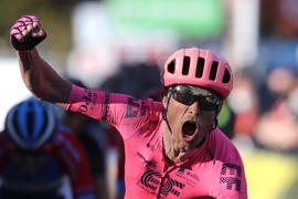 Der Däne Magnus Cort Nielsen gewann seine dritte Vuelta-Etappe.