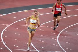 Lief in Weltrekordzeit zu Paralympics-Gold: Lindy Ave.