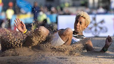 Malaika Mihambo sprang in Zürich nur auf den fünften Platz.