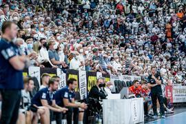 Der THW Kiel empfing 9000 Zuschauer.