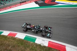 Valtteri Bottas geht von vorne ins Sprint-Rennen.