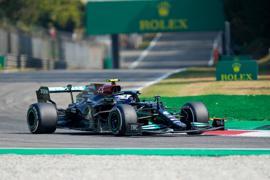 Hat die Sprintqualifikation in Monza gewonnen, startet aber nicht von der Pole: Mercedes-Pilot Valtteri Bottas.