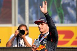 Max Verstappen geht in Monza von der Pole ins Rennen.