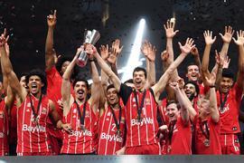 Topfavorit der Basketball-Trainer auf die Meisterschaft: Pokalsieger FC Bayern München.