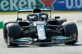 Lewis Hamilton will in Sotschi im Silberpfeil glänzen.