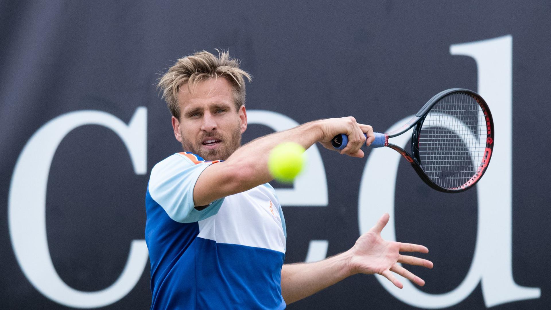 Im Halbfinale von Metz ausgeschieden: Peter Gojowczyk.
