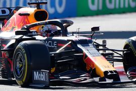 Hat bei der Qualifikation nur den Wagen getestet: Max Verstappen.