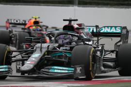 Lewis Hamilton setzte sich in Sotschi durch.