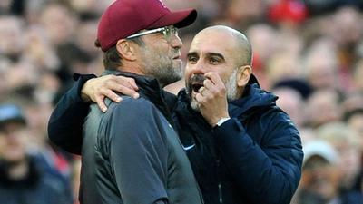 Jürgen Klopp trifft mit dem FCLiverpool am siebten Spieltag der Premier League auf Manchester City und deren Trainer Pep Guardiola.