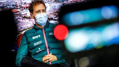 Sebastian Vettel fährt für das Team Aston Martin in der Formel 1.
