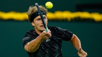 Steht in Indian Wells im Viertelfinale:  Alexander Zverev.