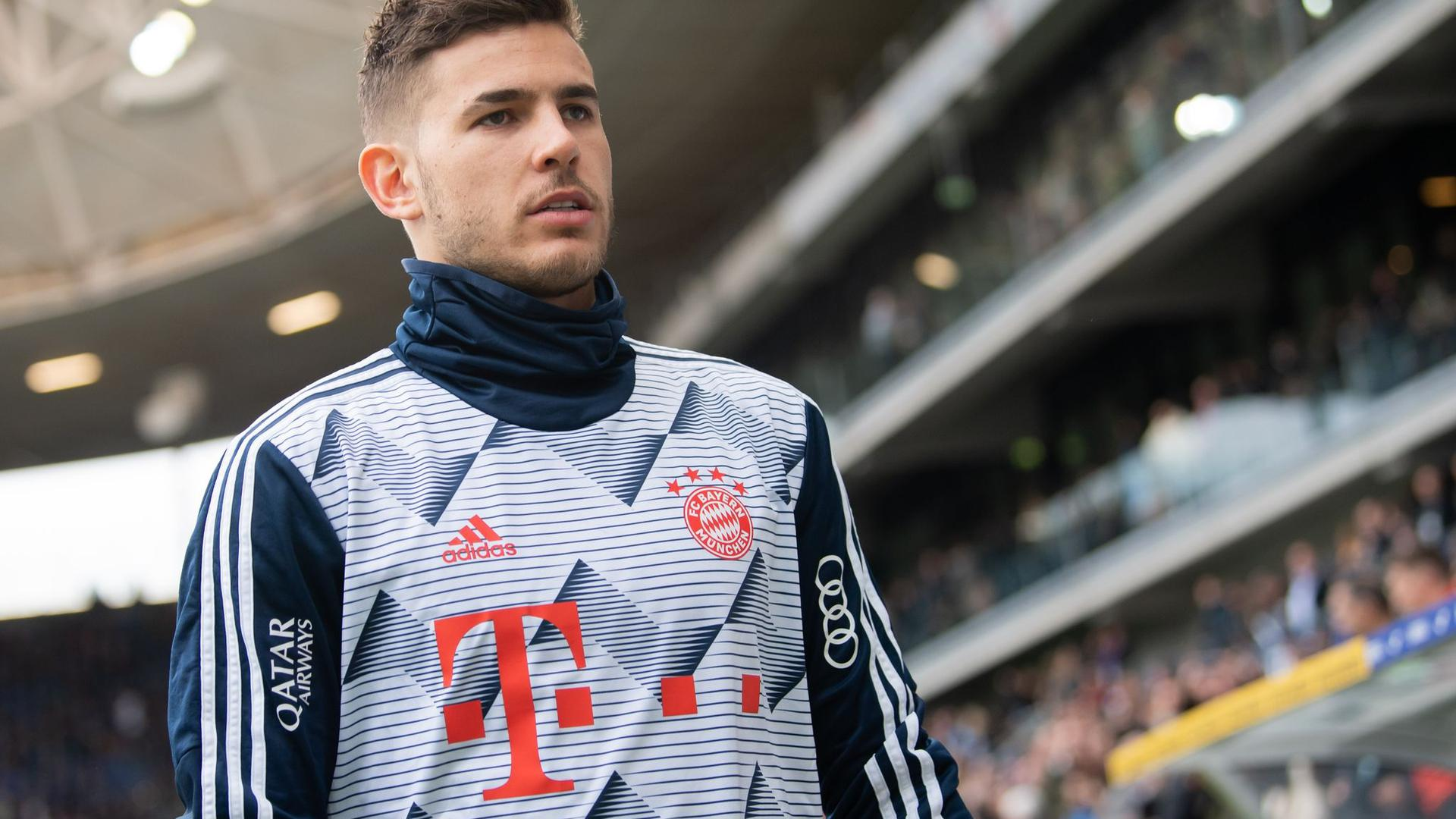Droht eine Gefängnissperre in Spanien: Bayern-Star Lucas Hernández.