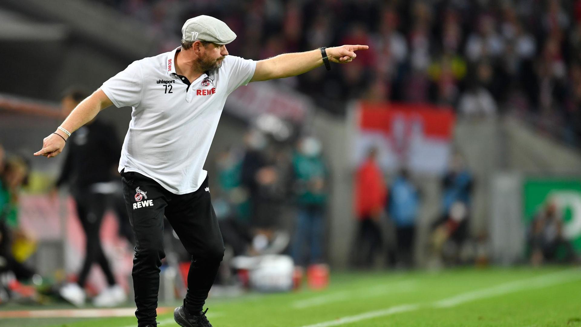 Unter der Regie seines neuen Trainers Steffen Baumgart wirkt der 1. FCKöln wie verwandelt.